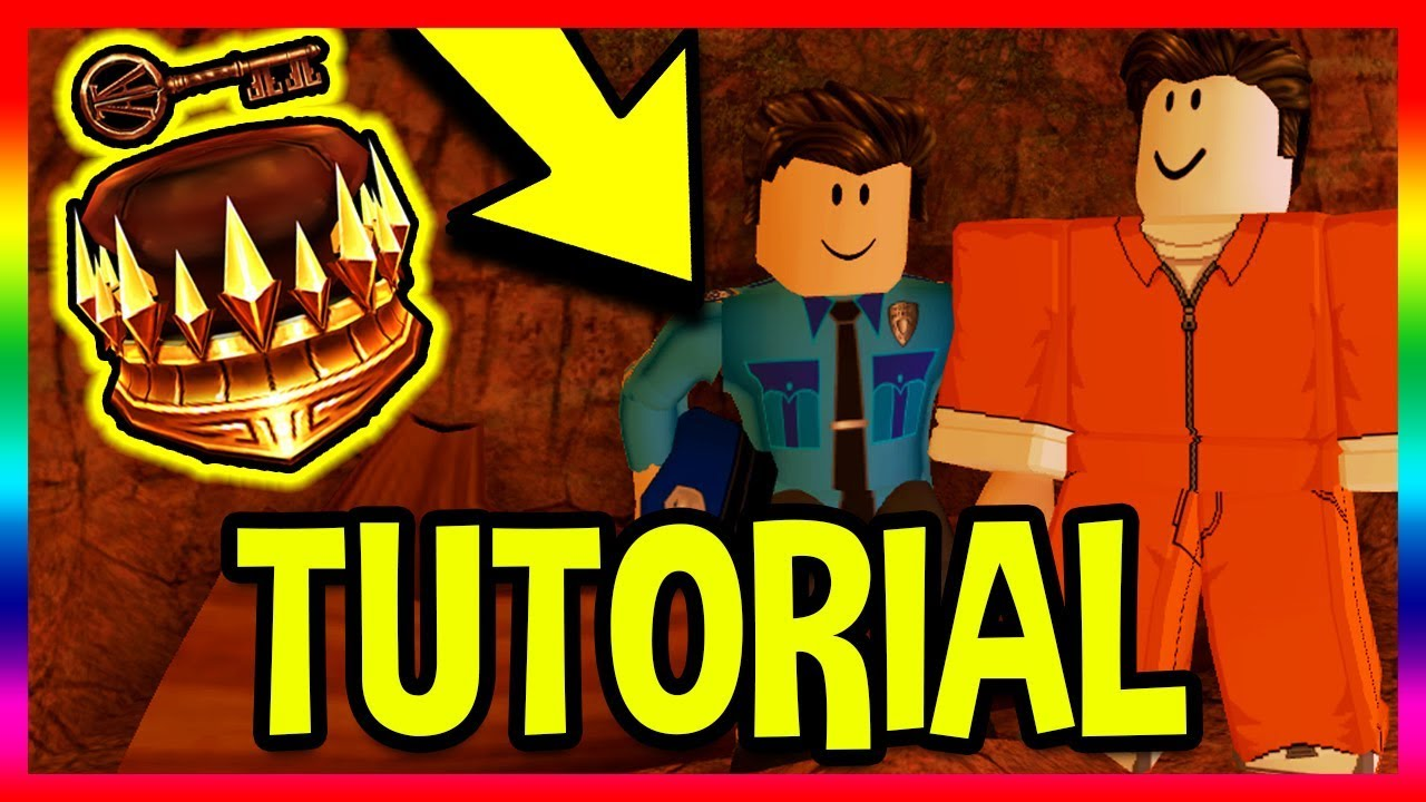 How To Get The Copper Key Fast Tutorial Roblox Jailbreak
