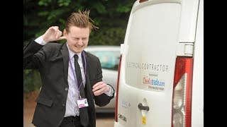 Electrician's van wired to give thieves 2,000volt shock