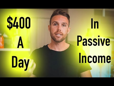 How To Earn $400 A DAY In PASSIVE INCOME With Affiliate Marketing