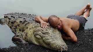 Außergewöhnlichste Freundschaften zwischen Menschen und Wildtieren!