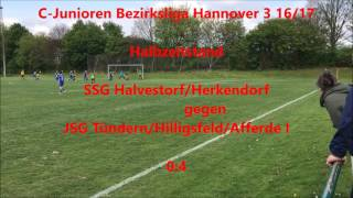 SSG Halvestorf/Herkendorf gegen JSG Tündern/Hilligsfeld/Afferde I