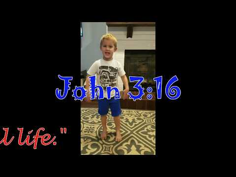 John 3:16 - Kid's Bible Verse Memorization