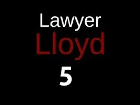 """Lawyer LLoyd Episode 5 """"Good To Know Radio"""" PODCAST 1 OF 3"""