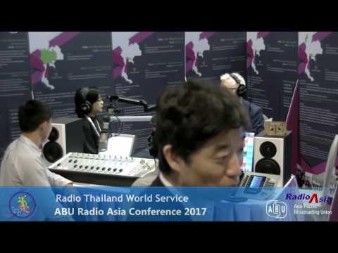 RADIO THAILAND FM 88 @RadioAsia2017  27 April 2017 04.43 PM BKK TIME