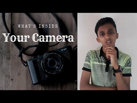 What's Inside your Camera | How does a camera works? | Tech MS