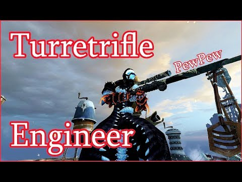 Guild Wars 2 - Turretrifle Engineer PvP #NoHoT