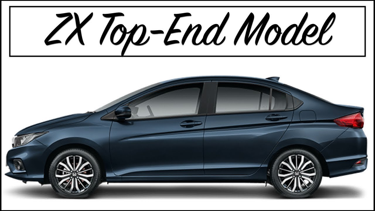 Honda City 2017 Zx Variant Top Model Interior And Exterior Features