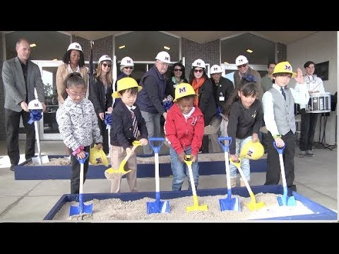 Ground breaking at MacArthur