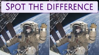 [ Brain games ] ( 3 ) Ep.015 Etc._Universe_astronaut_01 | Spot the difference | photo puzzles