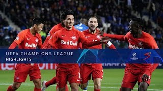 UEFA Champions League | KRC Genk v Red Bull Salzburg | Highlights