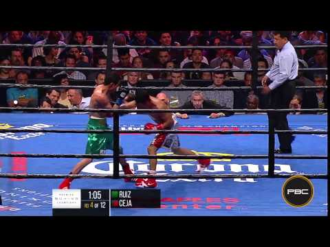 Ruiz va. Ceja Highlights: PBC on ESPN - August 29, 2015