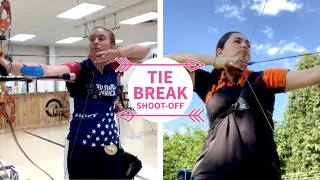 Gaby and Casey go to shoot-off in Lockdown Knockout quarterfinal | Fivics tiebreak