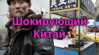 Шокирующий Китай. Уличная еда, живодерство. Расчленение собак.