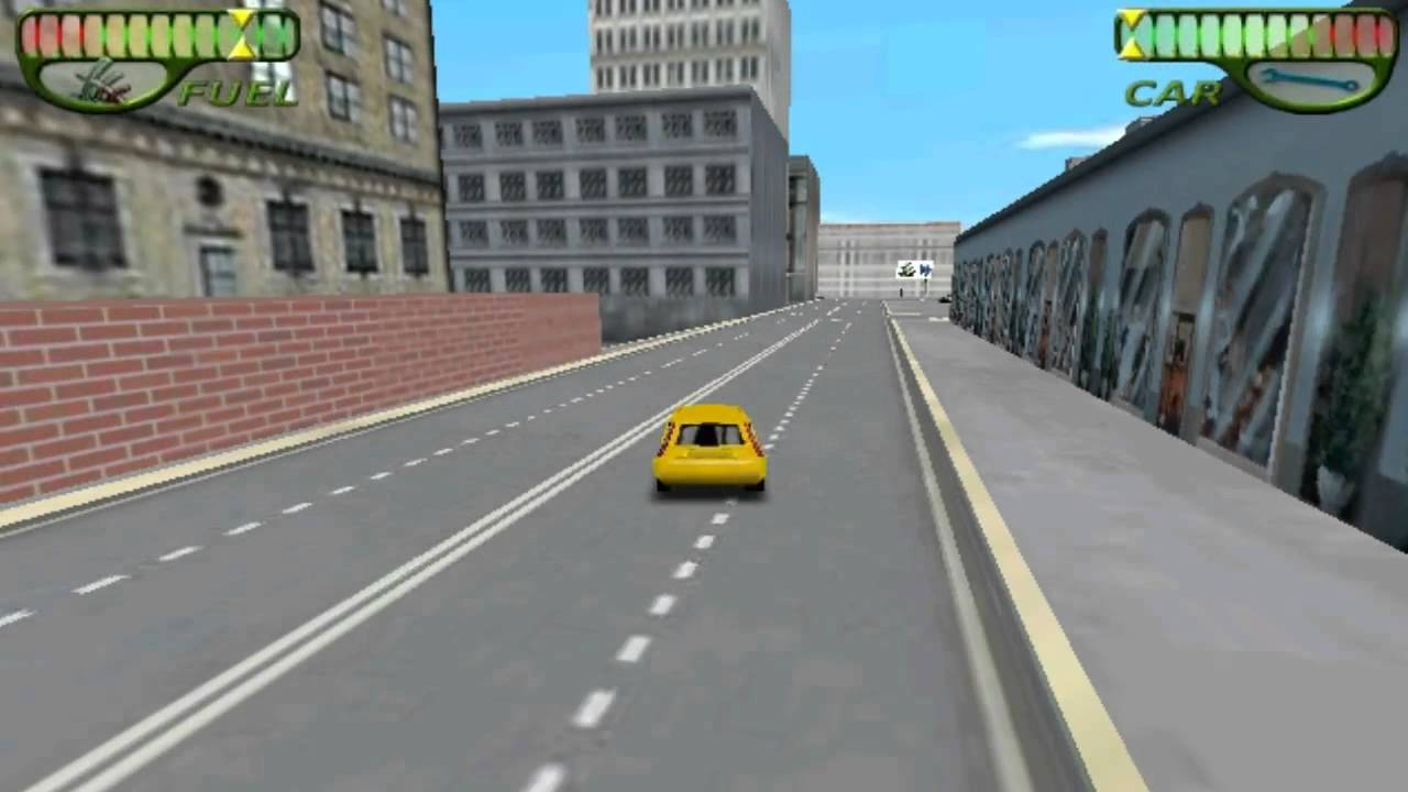 Yellow Car Game Runner