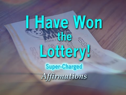 I Have Won The Lottery! - Lottery Success - Super Charged Affirmations