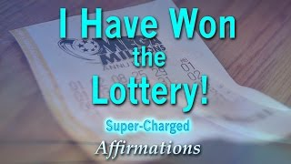 I Have Won The Lottery! - Lottery Success - Super Charged Affirmations(https://rockstaraffirmations.bandcamp.com/track/i-have-won-the-lottery-lottery-success-super-charged-affirmations The theory (we believe it is much more than ..., 2016-05-25T07:43:24.000Z)
