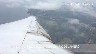 United Airlines | UA129 | Houston - Rio de Janeiro | Rio Olympics | Team USA onboard