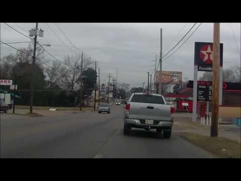 Meridian, Mississippi Roadgeeking [HD]