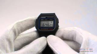 обзор мужских часов Casio W-59-1VU