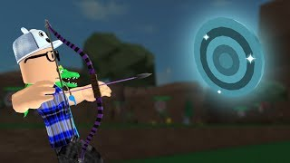 ROBLOX: THE OLD MAN BECAME AN ARCHER AND HIT THE DIAMOND TARGET!! -Play Old man