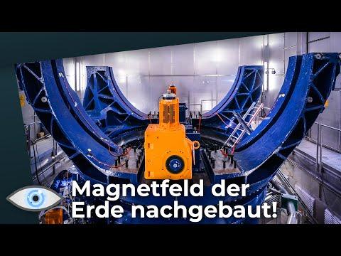 Dresdner Höllenmaschine: Planeten-Experiment reproduziert Magnetfeld der Erde!
