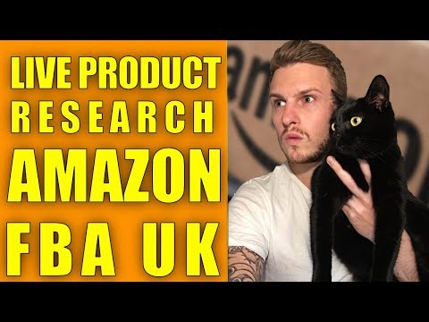 LIVE PRODUCT RESEARCH TECHNIQUES - AMAZON FBA UK - LIVE Q&A