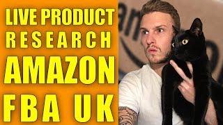 LIVE PRODUCT RESEARCH TECHNIQUES - AMAZON FBA UK - LIVE Q&A
