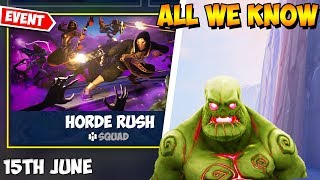 "🎮""Horde RUSH"" - Fortnite Cattus Event has been totally LEAKED! Season 9 Limited Time mode!"