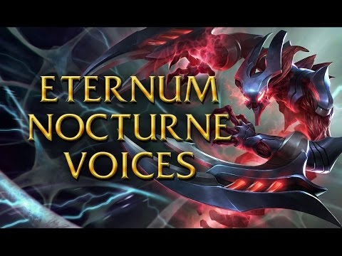 LoL Voices - Eternum Nocturne - All 16 languages