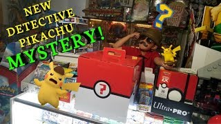 NEW DETECTIVE PIKACHU MYSTERY! The Worlds Most Mysterious Box of Mysteries!! Whats Inside? MBM #16