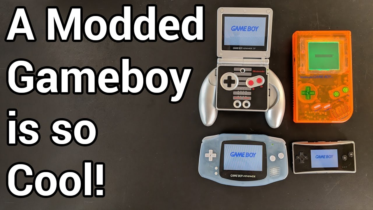 The 30th Anniversary Guide to Modding Gameboys - YouTube