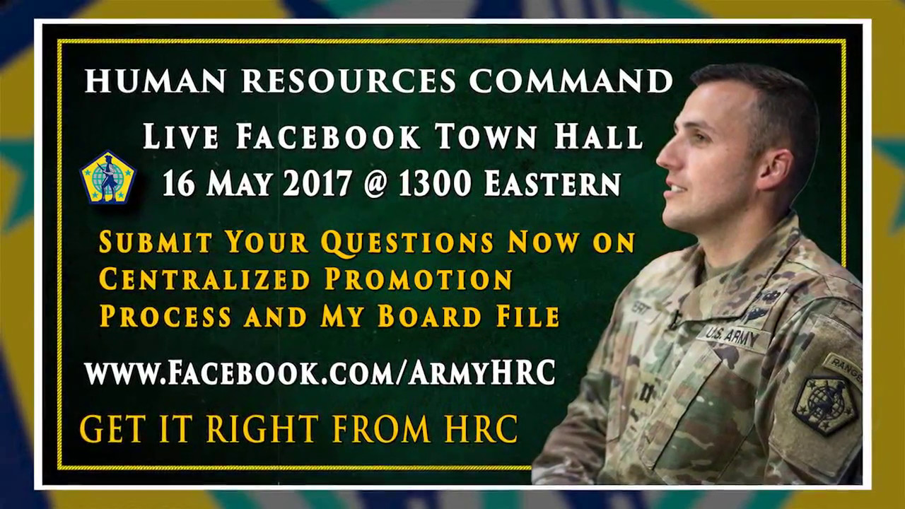 Live HRC Facebook event May 16 on Promotions and Board File prep – Hrc Promotion Point Worksheet