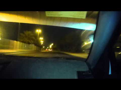 Taxi with Ahmed from Airport to Ibis Manama   Part 1   Bahrain   August 2015
