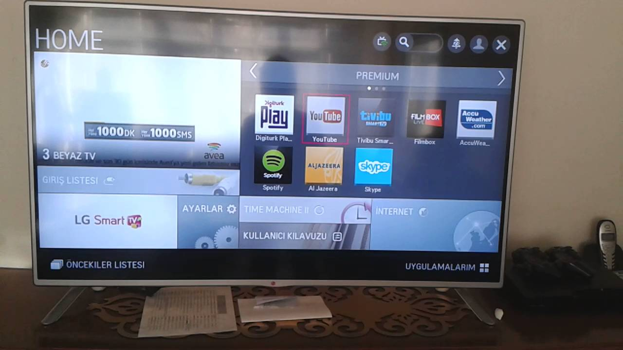 Akıllı TVler - nedir Akıllı TVyi bağlama ve kurma