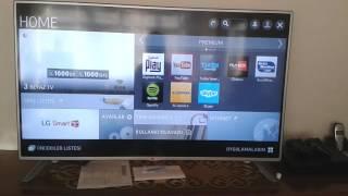 Lg Smart Tv İnternete Nasıl Bağlanır  Türkçe