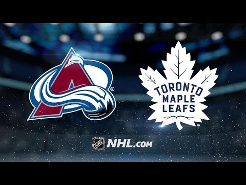 Colorado Avalanche vs Toronto Maple Leafs | Jan.14, 2019 | Game Highlights NHL 2018/19 | Обзор Матча