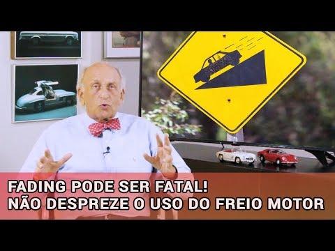 FADING PODE SER FATAL! NÃO DESPREZE O USO DO FREIO MOTOR