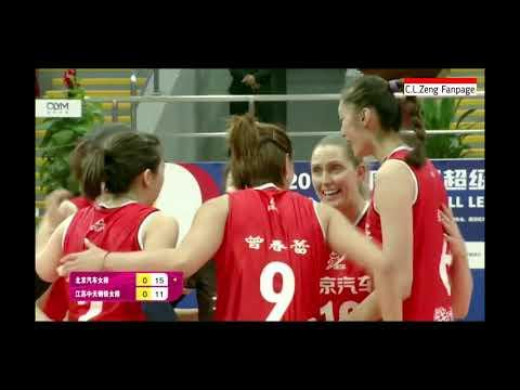 China Women Volleyball League 2018/2019 Beijing vs Jiangsu