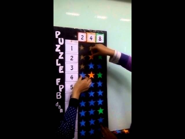 Alat Peraga Puzzle FPB & KPK