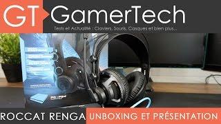 Roccat Renga - Unboxing et Test [FR] - Un bon micro-casque PC/PS4 à 50€