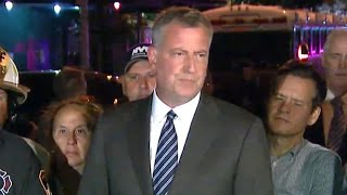 """NYC explosion an """"intentional act,"""" mayor says"""