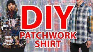 DIY - PATCHWORK || KOSZULA JAK YOUNG MULTI || CUSTOM - 2 tyś ZŁOTYCH