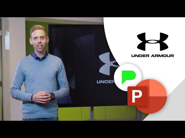 Online presentatie Under Armour | Portfolio | PPT Solutions