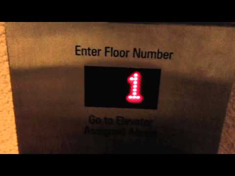 New York, NY: Westinghouse Traction Elevators (Schindler Mods) @ Marriott Marquis (6:35am Run)