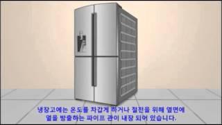삼성전자 냉장고 옆면에 열이 나요