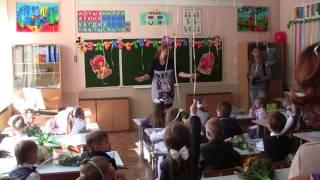Первые слова первой учительницы в первом классе первой школы (30-08-2014)
