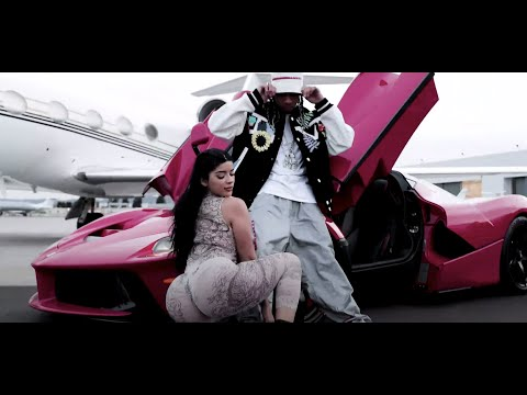 Screen shot of Tyga Nigo in Beverly Hills music video