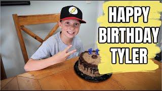 TYLER IS 11! | QUARANTINE BIRTHDAY VLOG | BONUS WALMART GROCERY HAUL