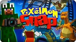 Minecraft Pixelmon SNAP! LET'S SNAP SOME PIXELMON! Ep #1