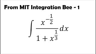 Solving MIT Integration Bee Problems (1)